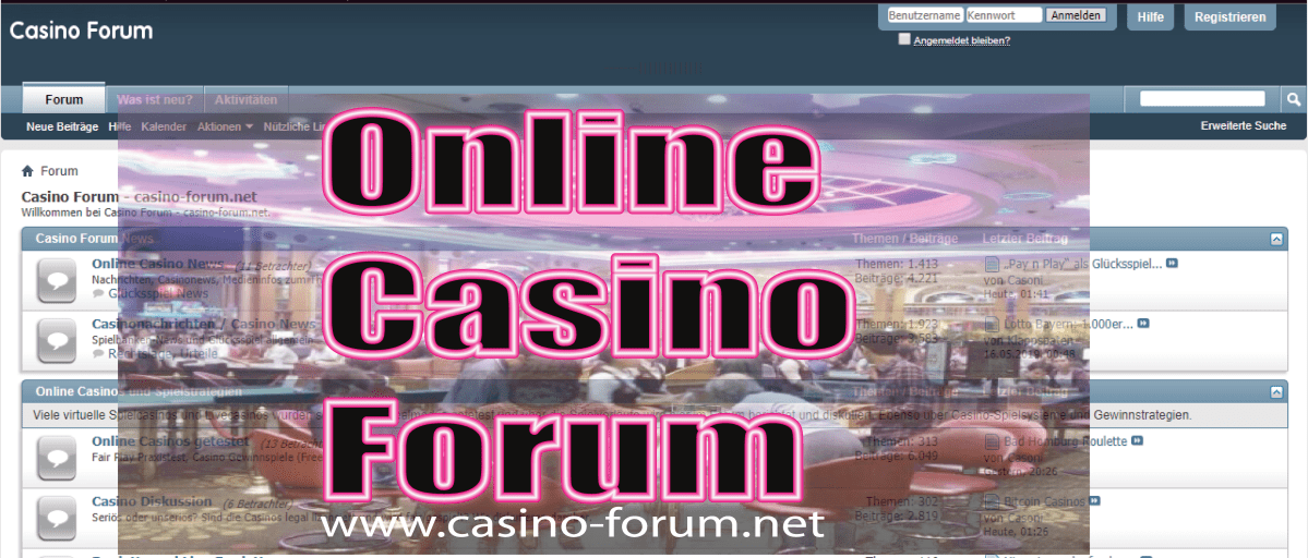 What to Expect From Casino Forum?